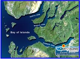 Bay of Islands Map